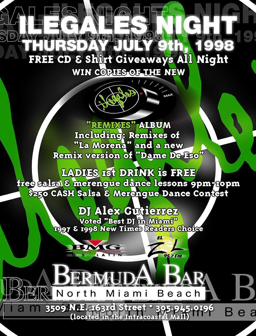 Bermuda Bar Ilegales Night