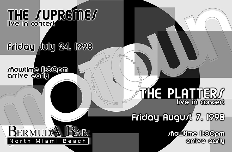 The Supremes and The Platters Live at Bermuda Bar