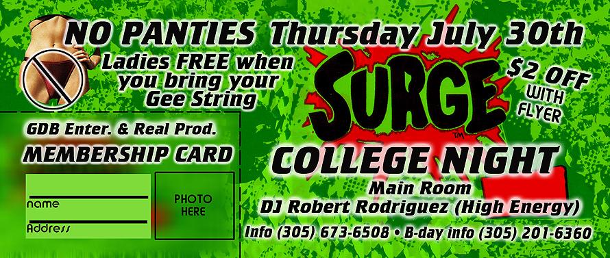 Surge College Night at Salvation