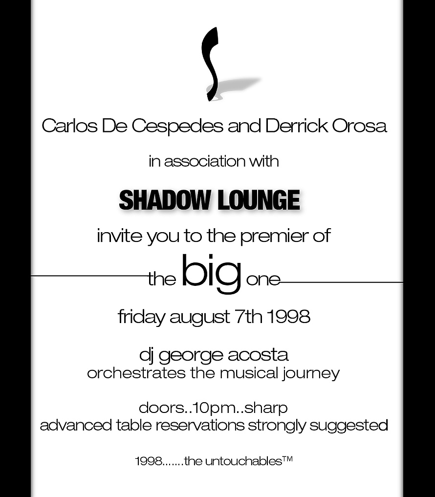 The Big One Premiew at Shadow Lounge