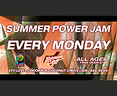 Summer Power Jam Every Monday - Top 40 Graphic Designs
