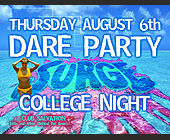 Surge Dare Party at Club Salvation - Club Salvation Graphic Designs