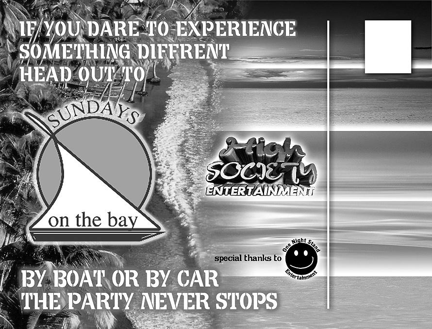 High Society Entertainment Presents Friday at Sundays on the Bay