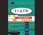 Truth Tour Pass - tagged with lines