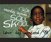 Soul Skool at Cream - created August 10, 1998