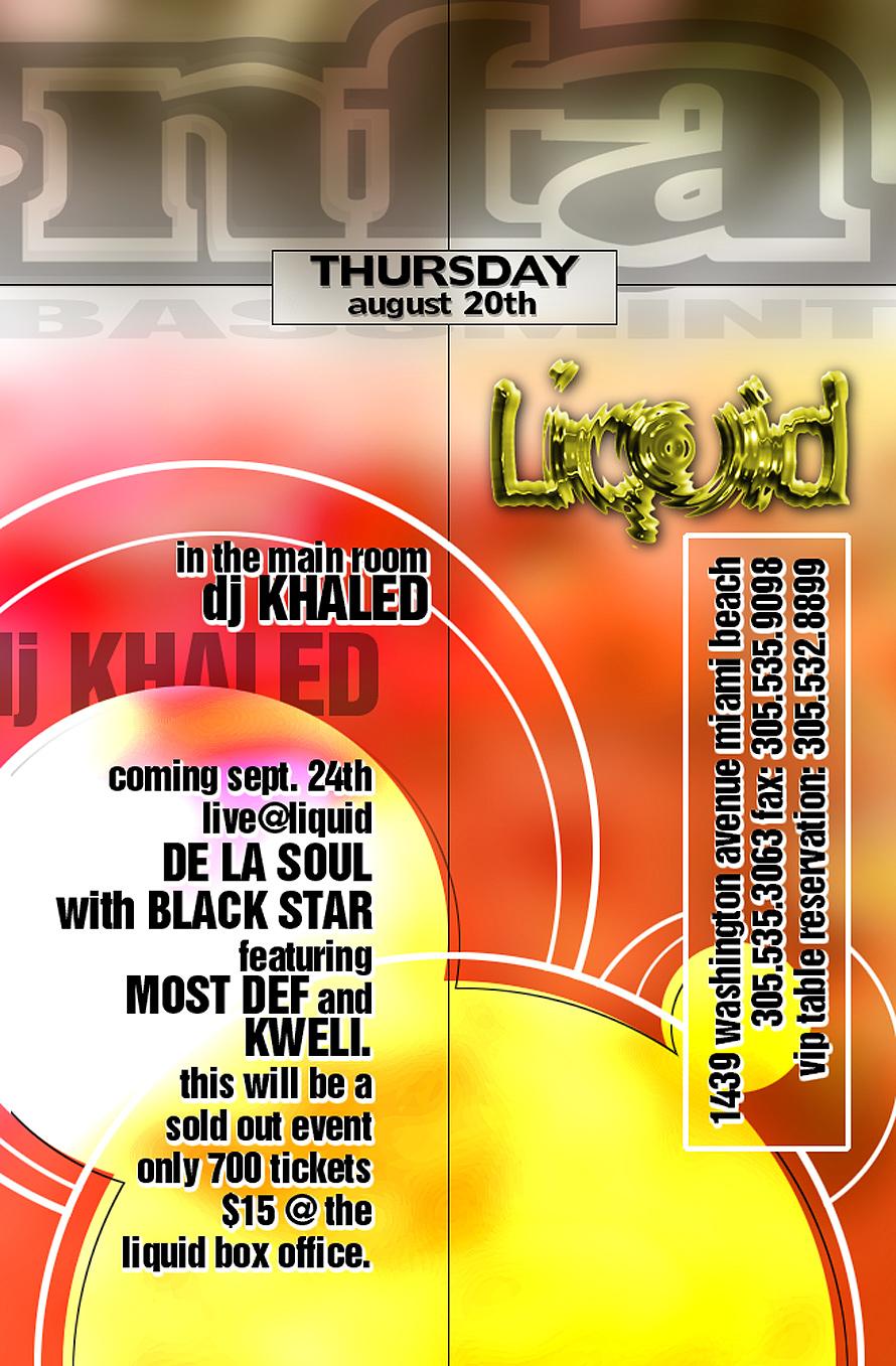 Thursdays at Liquid Nightclub