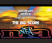 NFA Presents The Big Score - tagged with in the main room