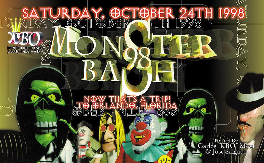 Monster Bash at Universal Studios