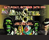 Monster Bash at Universal Studios - 1313x2125 graphic design