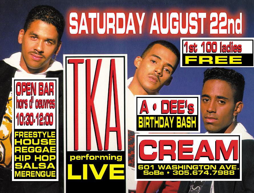 TKA Performing Live at Cream Nightclub