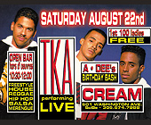 TKA Performing Live at Cream Nightclub - Reggae Graphic Designs