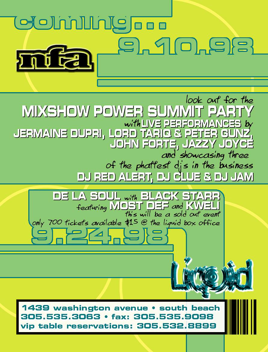 Liquid Nightclub Event