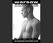 Warsaw Wednesday - created August 19, 1998