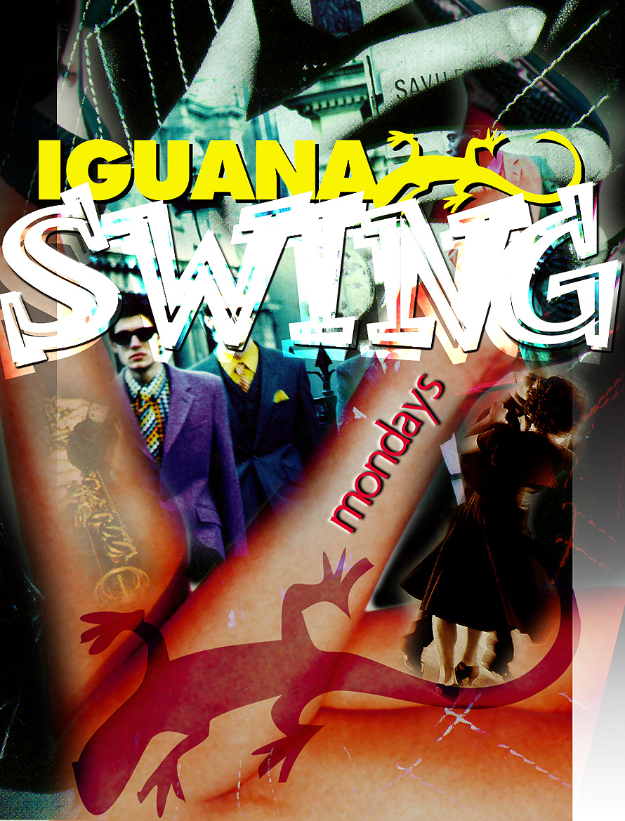 Iguana Mondays at Cafe Iguana