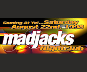 Saturday at Madjacks Nightclub - tagged with 99jamz