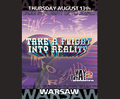 Warsaw Take A Flight Into Reality - Reggae Graphic Designs