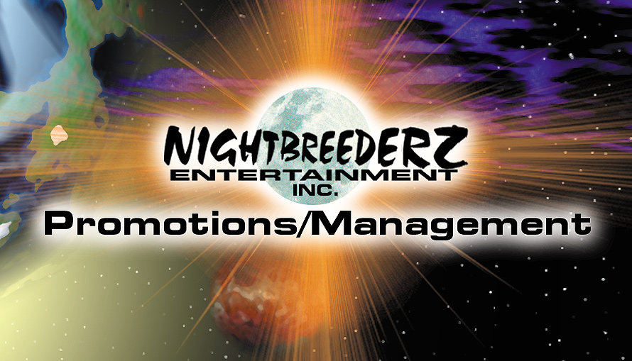Nightbreederz Promotion and Management Card
