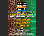 Sundays Players Party at Mad Jacks Bar Club and Grill - tagged with zach thomas