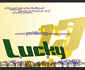Club Lucky 13 Grand Opening with DJ George Acosta - tagged with proudly present