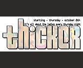 Thicker Ladies Night at Cream Nightclub - tagged with Cool letters
