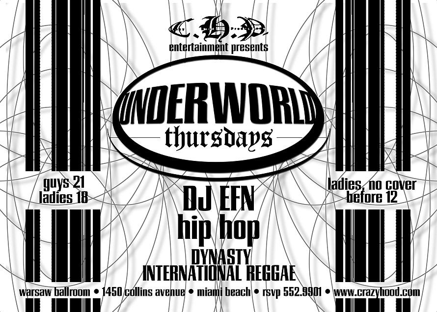 Underworld Thursdays Warsaw