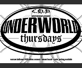 Underworld Thursdays Warsaw - tagged with valet parking available
