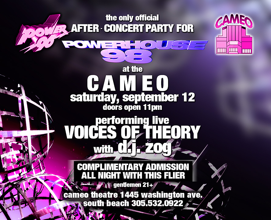 Powerhouse 98 After Party at Cameo Theater