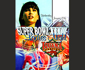 Super Bowl 33 Ladies Night at Cafe Iguana Cantina - Cafe Iguana Cantina Graphic Designs