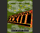 Super Bowl 33 at Bermuda Bar - tagged with 3509 n