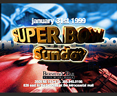 Super Bowl 33 at Bermuda Bar - 3414x2601 graphic design