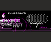 Vampire Ladies Night at Horror Cafe - tagged with 305.446.6003
