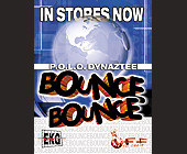 Dynaztee Bounce Bounce In Stores Now - Music Graphic Designs