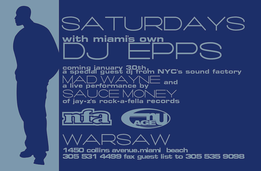 Flave Saturdays at Warsaw with DJ Epps