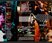 Horror Cafe Brochure - 2261x2926 graphic design
