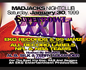Super Bowl XXXIII Party at Mad Jacks - tagged with nfl