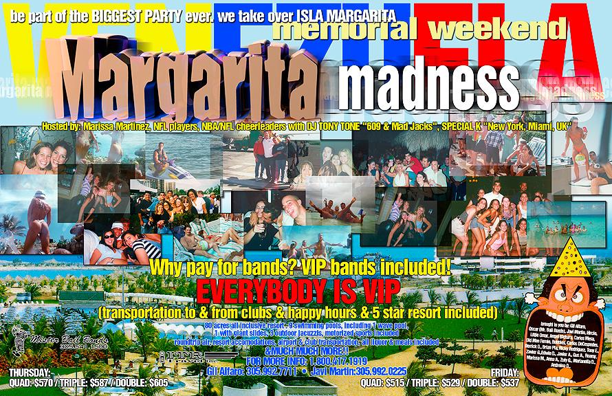 Venezuela Memorial Weekend