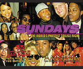 Worlds Phattest College Night at Amnesia - Club Amnesia Graphic Designs