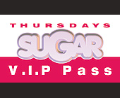 Sugar Thursdays VIP Pass at The Chili Pepper - tagged with t h e