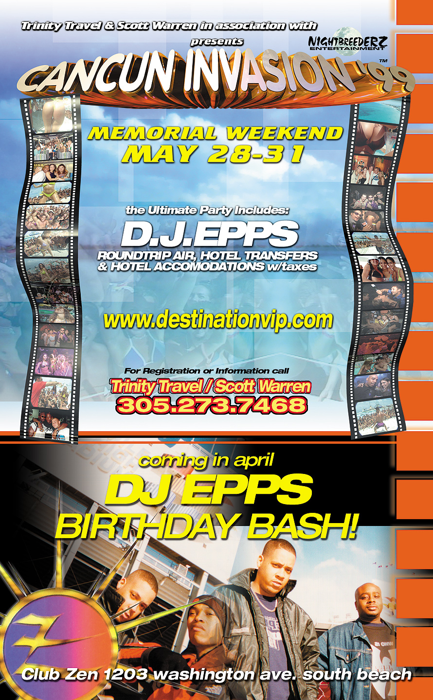 Freaky Fridays at Club Zen with DJ Epps