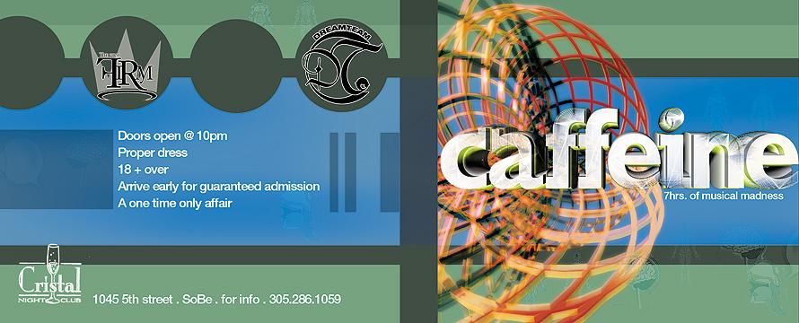 Caffeine at Cristal Nightclub with DJ Tony Tone