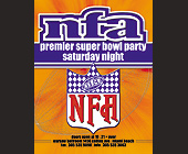 Super Bowl Party at Warsaw - 1200x1575 graphic design