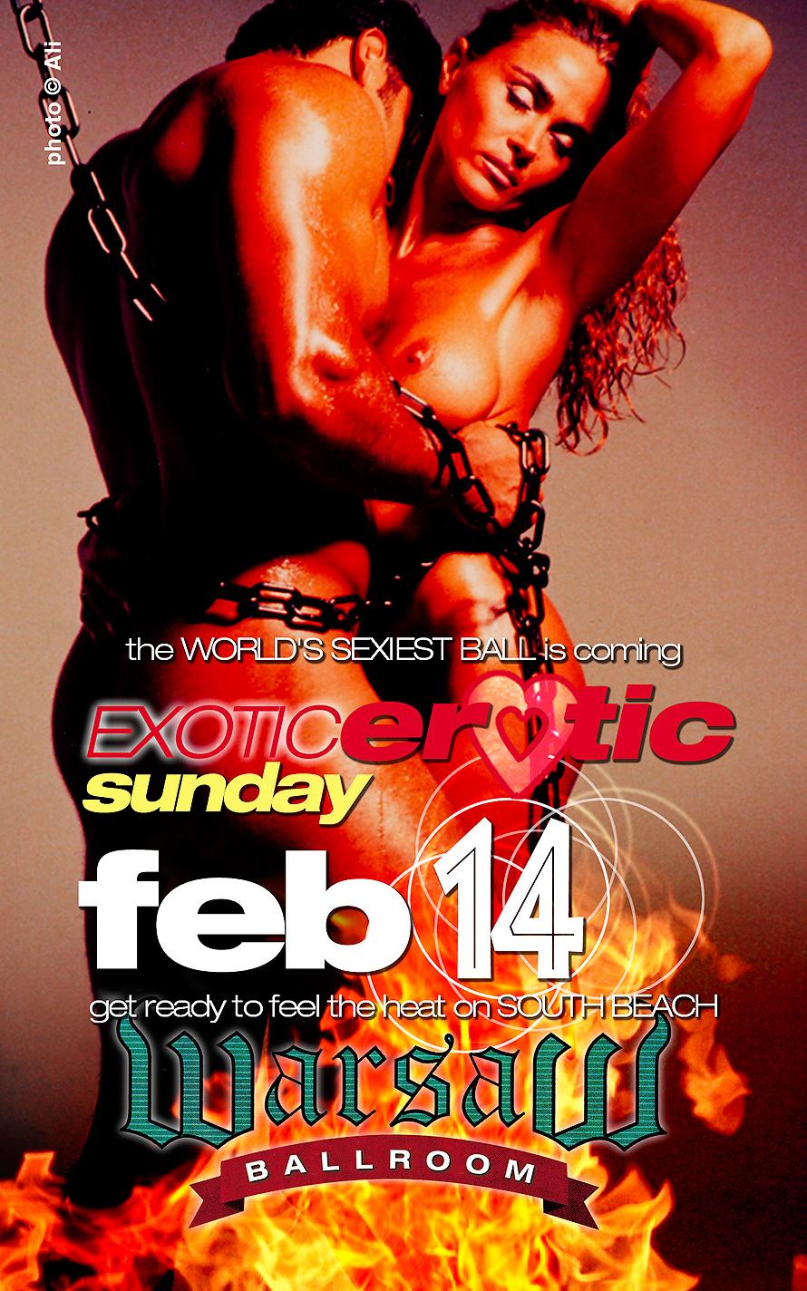 Exotic Erotic Valentines Ball at Warsaw