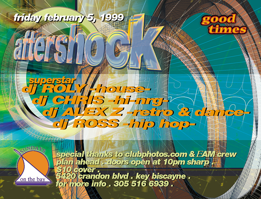 Aftershock at Sundays on the Bay