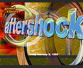 Aftershock at Sundays on the Bay - created January 1999