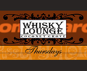 Whisky's Lounge Thursdays Comp Card - created January 1999