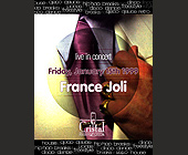France Joli Live at Cristal - tagged with rings