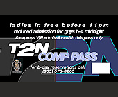 T2N Comp Pass - tagged with Shine