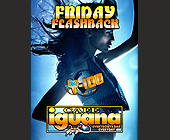 Friday Flashbacks at Cafe Iguana - Top 40 Graphic Designs
