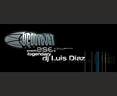 DJ Luis Diaz at Groove Jet - created November 1999
