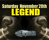 Legend Boxing Event at Groove Jet - tagged with gray scale